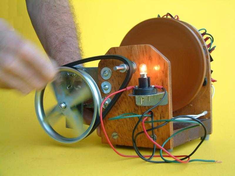 Генератор электричества своими руками видео